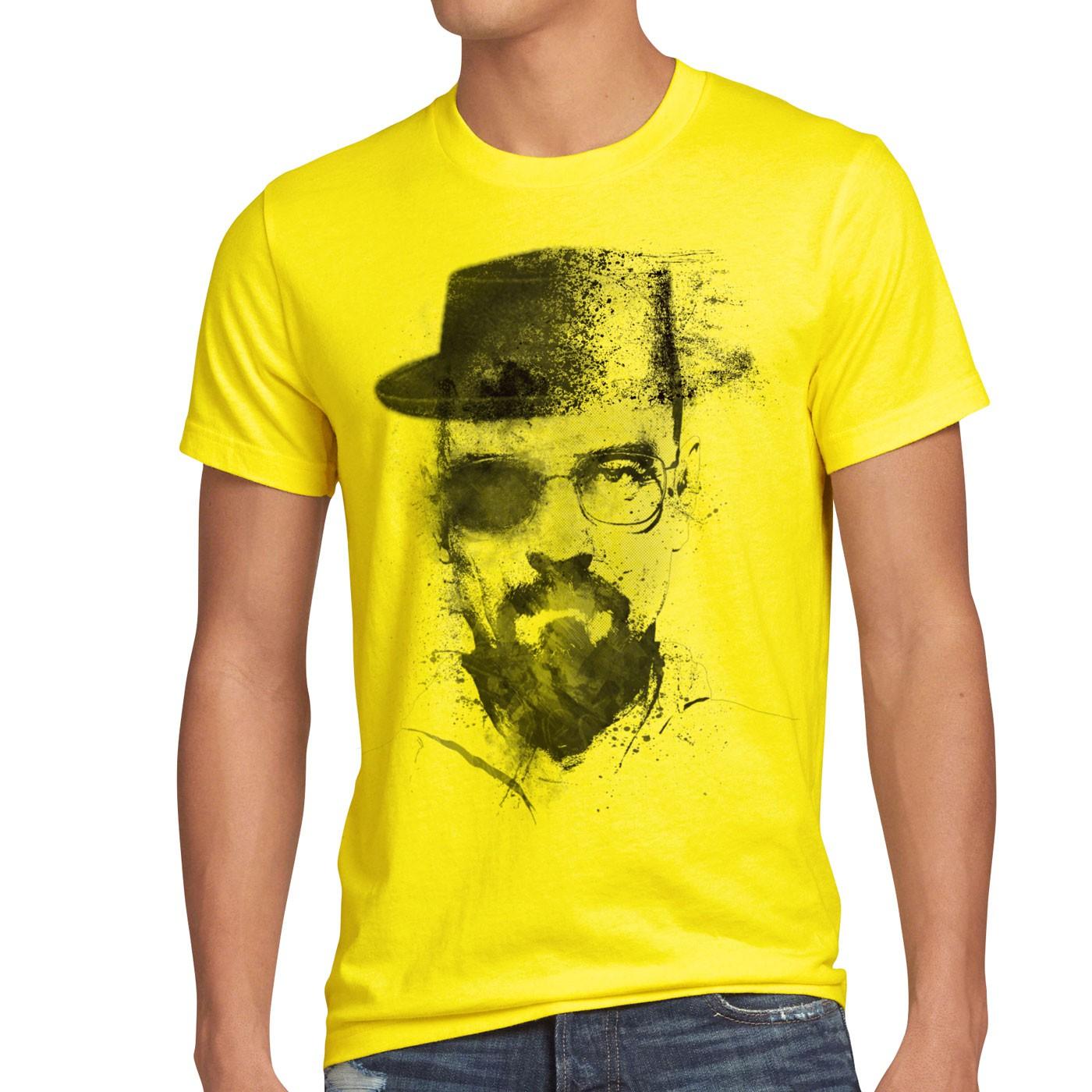 Walter Crystal Herren T Shirt Meth Breaking White Tv Serie