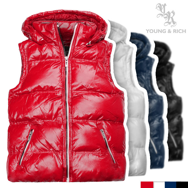 glanz stepp weste daunenweste winterweste kapuze jacke s m l xl rot schwarz blau ebay. Black Bedroom Furniture Sets. Home Design Ideas