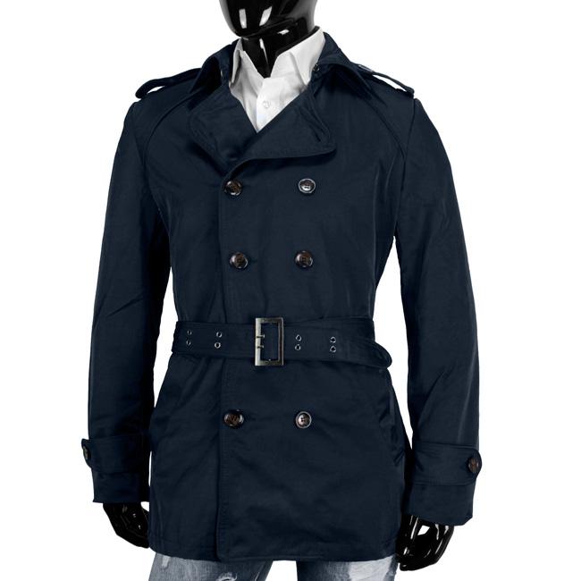 y r designer trenchcoat herren mantel zweireiher coat