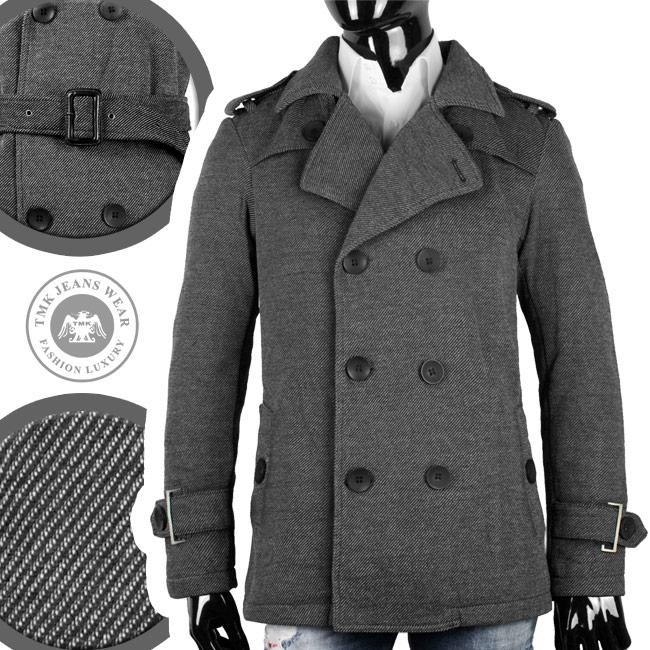 tmg 2 reiher herren mantel designer winter mantel g rtel. Black Bedroom Furniture Sets. Home Design Ideas