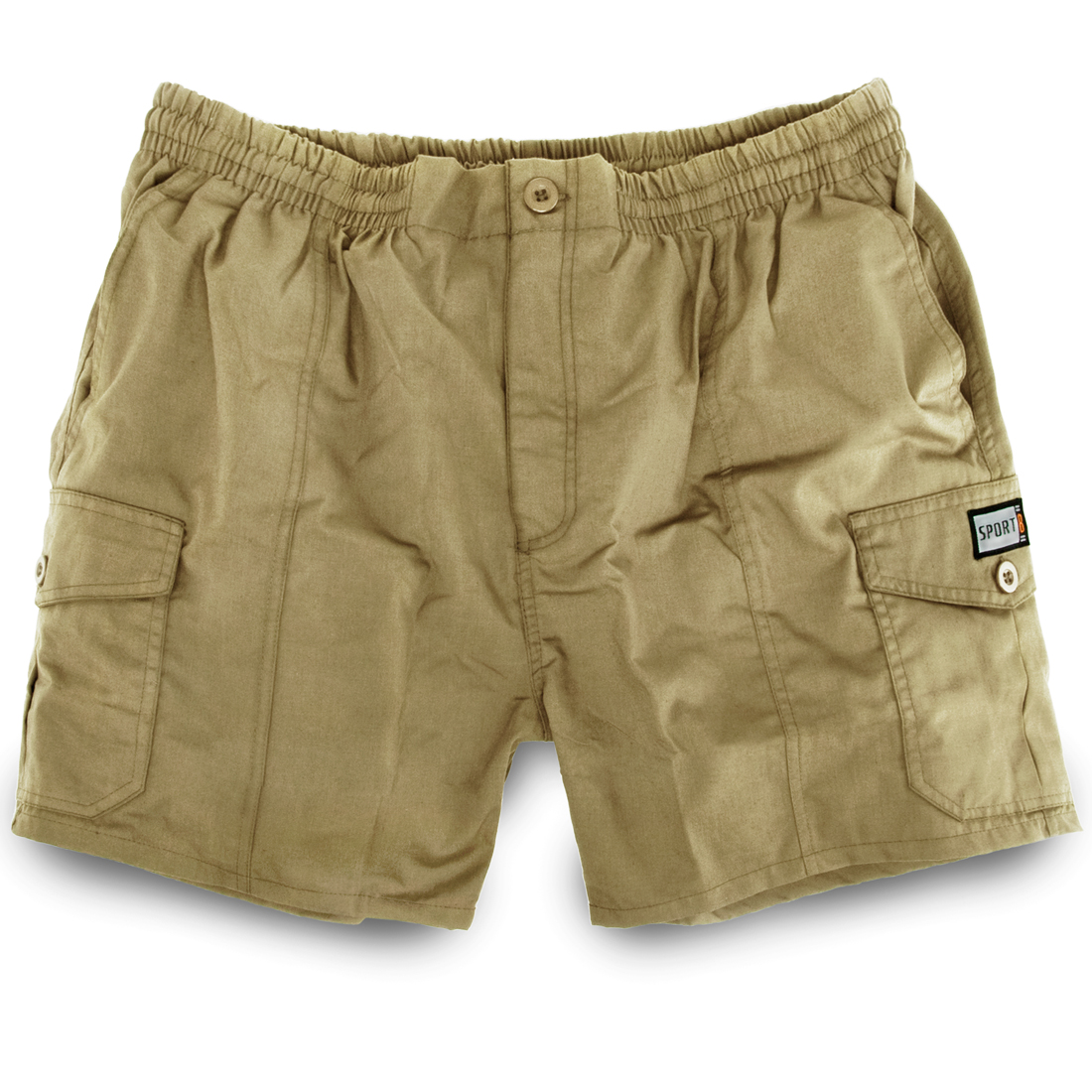 herren shorts cargo shorts kurze hose elastischer bund sommer bermuda. Black Bedroom Furniture Sets. Home Design Ideas