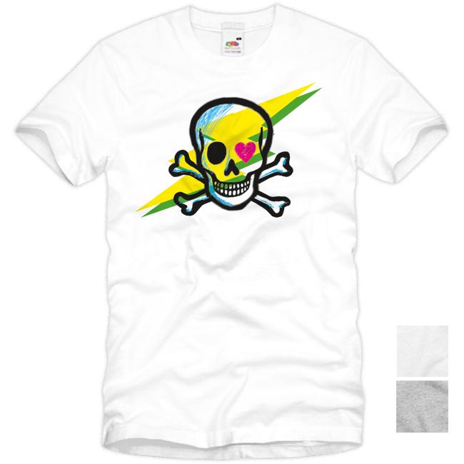 Skull T Shirt Love Totenkopf Rocker tattoo S M L XL XXL XXXL Skater