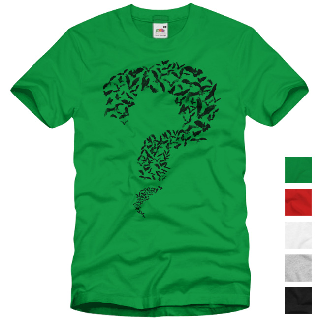 Ebay for Riddler t shirt with bats