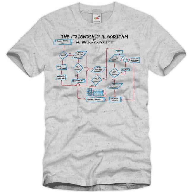 Friendship Algorithm t Shirt The-friendship-algorithm-t