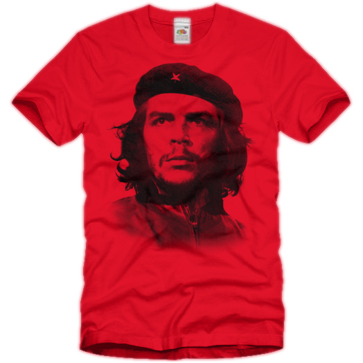 che guevara t shirt socialism red s m l xl dreieich. Black Bedroom Furniture Sets. Home Design Ideas