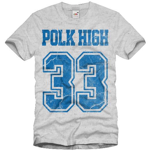POLK HIGH vintage T-Shirt al bundy kult S M L XL XXL