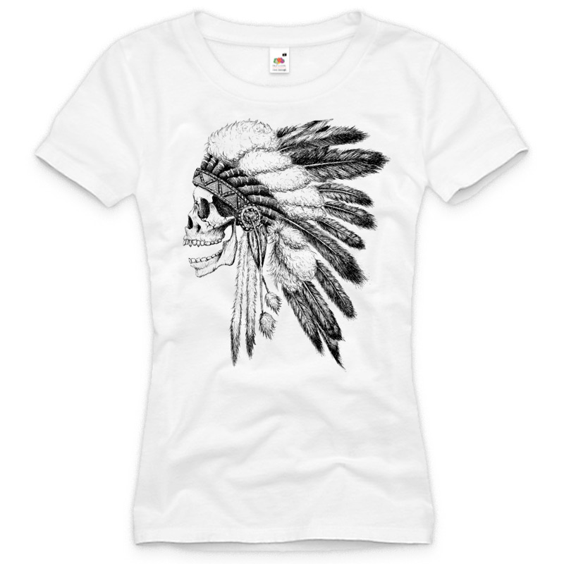 biker totenkopf t shirt damen skull tattoo chopper western neu xs s m l xl xxl ebay. Black Bedroom Furniture Sets. Home Design Ideas
