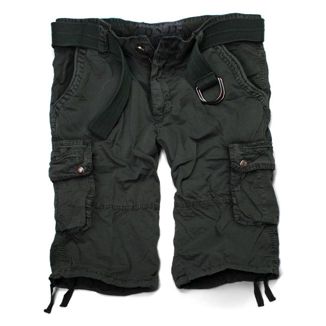 D-N-D-Vintage-Shorts-Cargo-Short-Bermuda-kurze-Hose-Schwarz-Oliv-Navy-S-XXXL