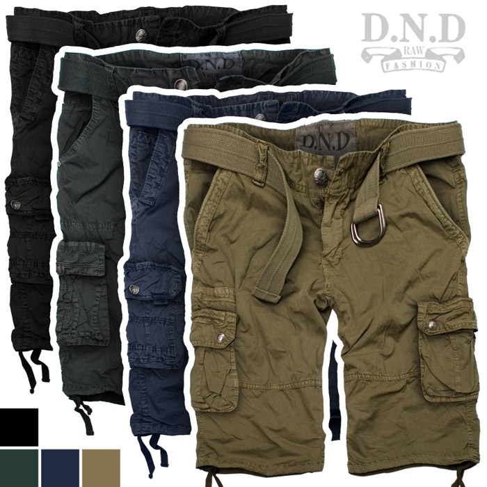 d n d vintage shorts cargo short bermuda kurze hose. Black Bedroom Furniture Sets. Home Design Ideas