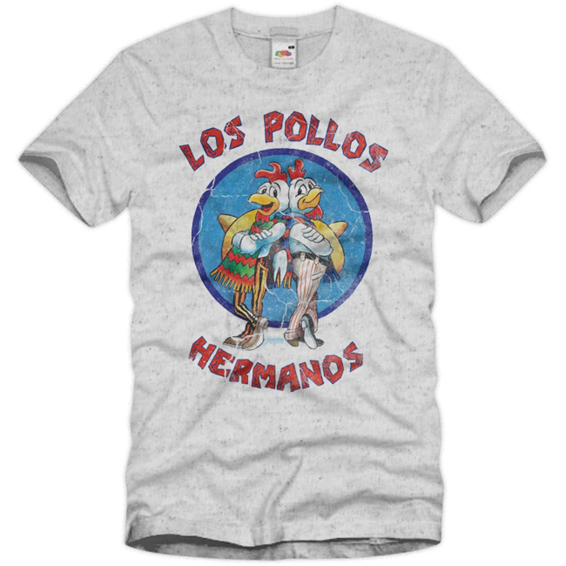 vintage t shirt breaking bad herren los pollos hermanos. Black Bedroom Furniture Sets. Home Design Ideas